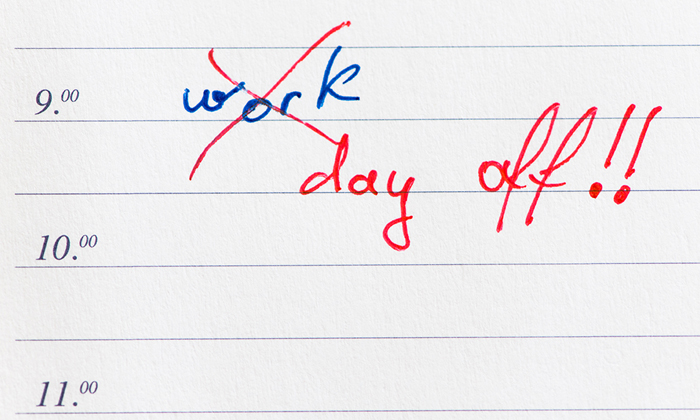 Rebeccalewis october2014 work day off sick leave mc shutterstock